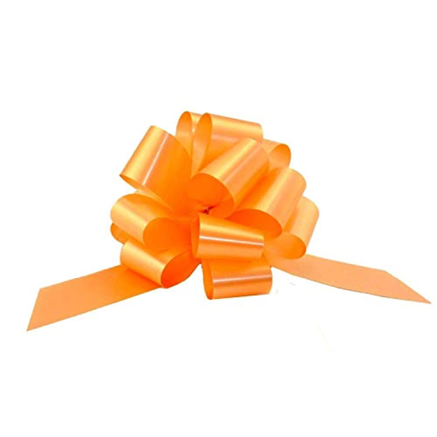 Peach Decorative Gift Pull Bows - 5