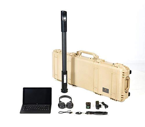 OKM Fusion Professional Metal Detector, Metal Detector and 3D Ground Scanner, Underground Treasure Metal Detector Device, 3D Digital Metal Finder