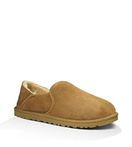 UGG Men's Kenton Slipper, chestnut, 9 Medium US