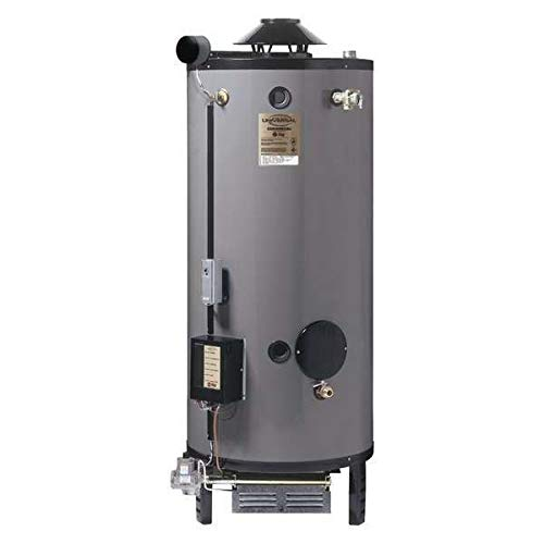 Natural Gas Commercial Gas Water Heater, 75 gal, 120VAC, 125,000 BtuH