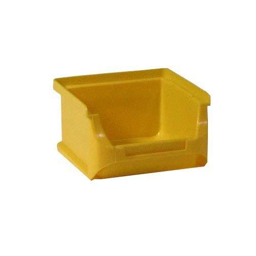 Allit 456202 Sichtbox Größe 1 100 x 102 x 60 mm in gelb