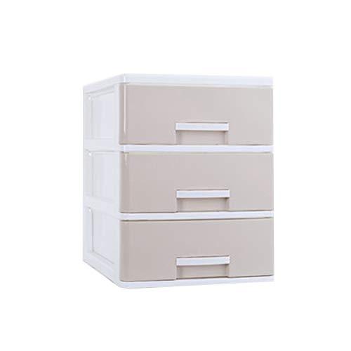 Heizung Organizador de casa Caja de Almacenamiento de Escritorio Tipo de cajón A4 Caja de clasificación de Archivos A4 Caja pequeña Material PP para Juguetes, Libros, Armario, Dormitorio.