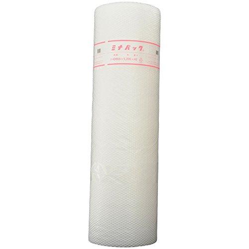 酒井化学工業 ポリエチレン製気泡緩衝材 ミナパック 1200mm×42m 400SS 5巻入ケース販売