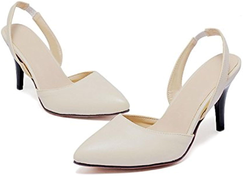 WHW Women's Summer Fall Fabric Outdoor Dress Casual Flat Heel Flower Sandals,ricewhite,31