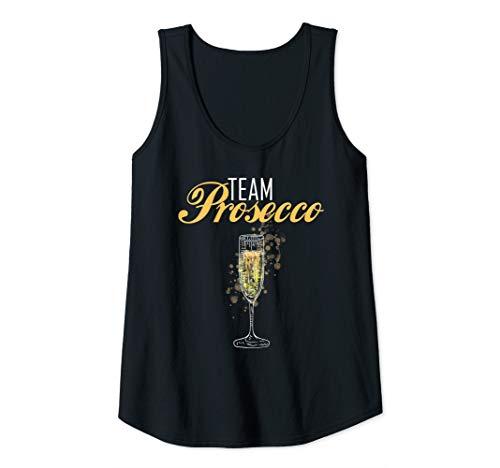Damen Team Prosecco | Blutgruppe Prosecco Geschenk | Prosecco Tank Top