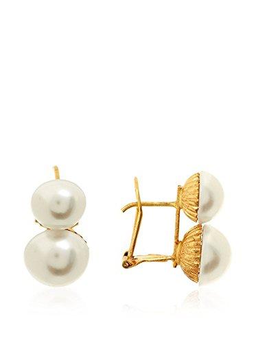 Córdoba Jewels | Ohrstecker in Goldfilled Gold 14/20Laminat Design Du und ich Perle