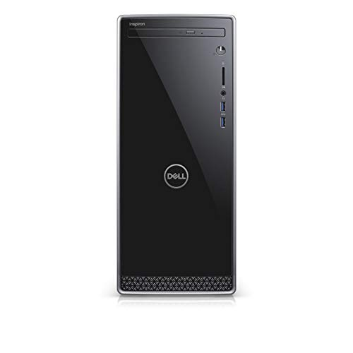 Dell Inspiron 3671 Desktop Computer Intel Core i5-9400 9th Gen, 8 GB DDR4 RAM, 256GB + 1TB Hard Drive, DVD-RW, HDMI, Windows 10 Home, 2020 Model
