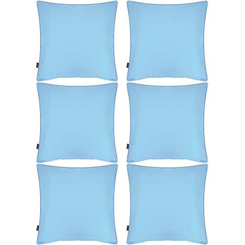 cuscini per divano esterno Confezione da 6 federe decorative impermeabili per esterni