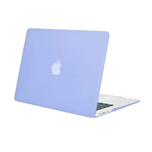 MOSISO MacBook Air 13 inch Case (Models: A1369 & A1466, Older Version 2010-2017 Release), Plastic Hard Shell Case Cover Only Compatible with MacBook Air 13 inch, Serenity Blue
