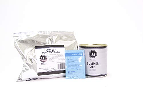 Premium Summer Ale No Boil Complete Beer Kit, Makes 2.6 gallons