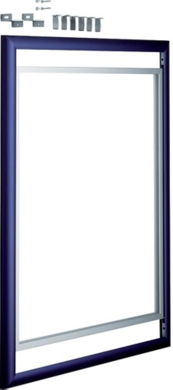 Hager VZ810N Wechselrahmen 3-reihig azurblau B002ICSG68 | Sonderaktionen zum Jahresende