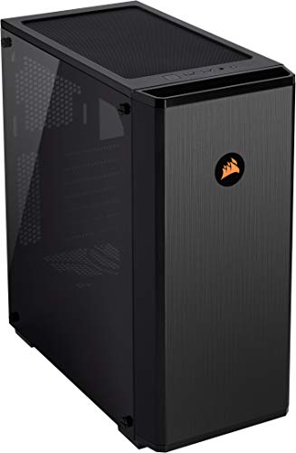 Corsair Carbide Series 175R RGB Tempered Glass Mid-Tower ATX Gaming Case, Black