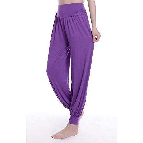 LRFSD Yogahosen, lockere lässige Haremshosen, weiche Tanz-Pilates-Hosen aus modaler Baumwolle für Damen - eine Vielzahl von Größenfarben, geeignet für Frauen, die gerne Sport Treiben
