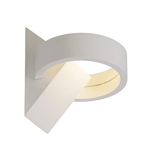 AEG YUL LED Wandleuchte Ø 11,4 cm Aluminium-Druckguss/Glas Weiß