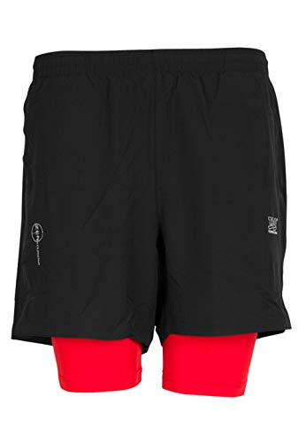 TAO Sportswear Short de Course zentour Li-ION Running M Black/Red Coat