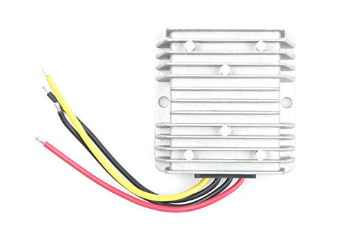 LIVISN DC Voltage Reducer Converter DC 60V (40V - 75V) to 13.8V 15A 207W Step Down Voltage Regulator Power Converter Waterproof Module Transformer for Golf Cart Club Car