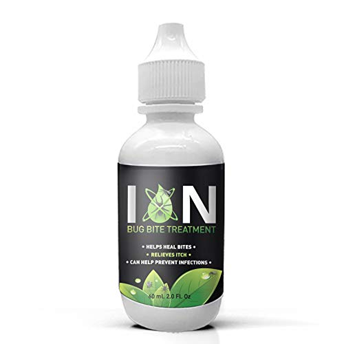 Bug Bite Itch Relief for Bug Bites | Use ION Bug Treatment for Mosquito Bite Relief, Spider Bite Treatment, Bee & Wasp Sting Relief - Soothes Bites, Itch Relief, Prevents Infections
