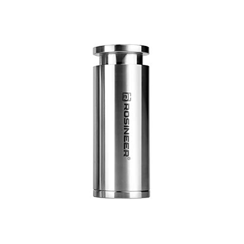 Rosineer Cylindrical Pre-Press Mold, Food-Grade Stainless Steel, 30 mm Internal Diameter