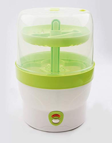 H+H BS 29g Babyflaschen-Sterilisator für 6 Flaschen in grün - 5