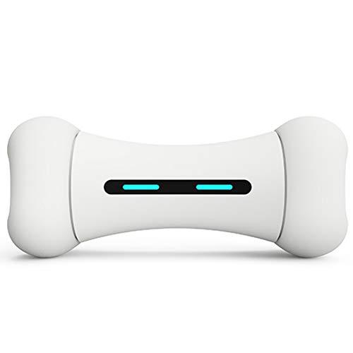 Juguetes Interactivos Indestructibles - Inteligente Bluetooth Perro Juguete Hueso Para Perros Pequeños Y Grandes - 12 Emocional - 9 Deportes - Material Seguro FDA - USB Charging (300G),tbones