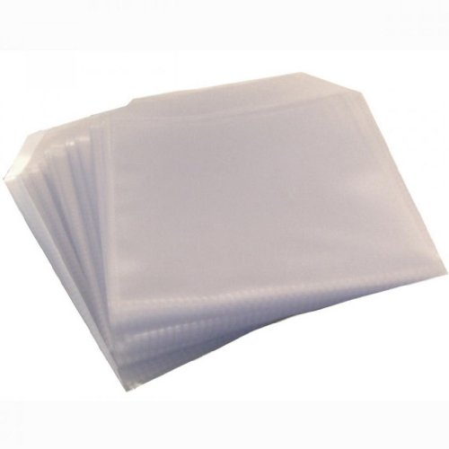 CD-/DVD-Hüllen, Kunststoff, transparent, 150 Mikrometer, 50 Stück