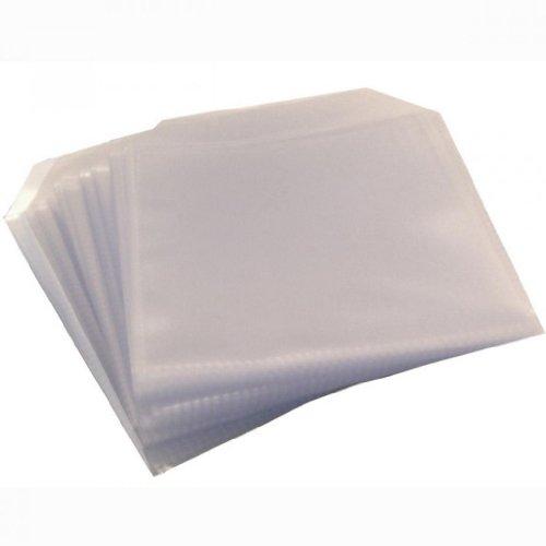 CD-/DVD-Hüllen, Kunststoff, transparent, 150 Mikron, 50 Stück