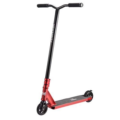 LIYANJJ Pro Scooters Stunt Scooters - Freestyle 110 mm Aluminium Core Wheels y ABEC-7 Stunt Scooters para niños de 8 años en adelante Scooter de Nivel de Entrada