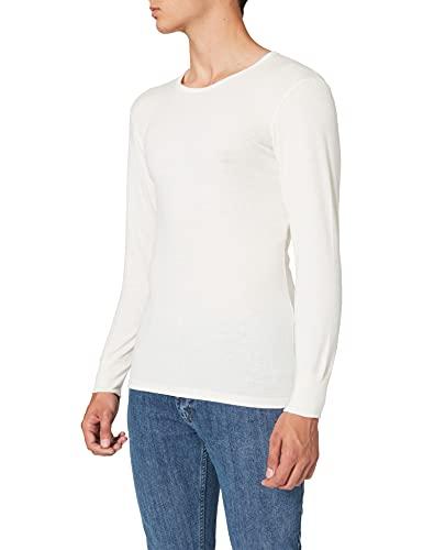 Armor Lux, T-Shirt Manches Longues Ras Du Cou Homme, Ecru, X-Large (Taille Fabricant: 5)