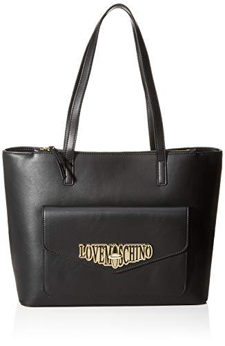 Love Moschino Tote Bag, Black (Nero)