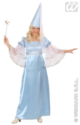 Ladies Blue Fairy Costume Extra Large Uk 18-20 For Neverland Fairytale Fancy