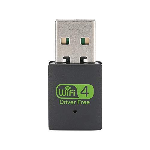 Drive-free USB WLAN-adapter, USB 2.0, 300 Mbit / s, 2,4 G IEEE 802.1X WLAN-chipset voor Realtek RTL8919FM, ondersteuning voor Windows XP / Vista / 7/8 / 8.1 / 10