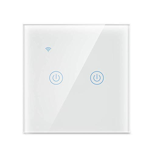 Yagusmart WiFi Smart Wall Light Switch, No Neutral Wire Required,...