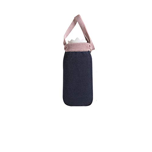 Silikon-wärmflasche, Wasserkocher, Fußwärmer, Handwärmer, Mini-handwärmer Schwarz