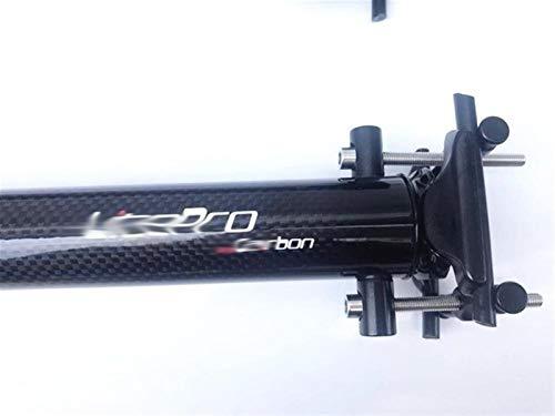 BGGPX Asiento de Fibra de Carbono Suspensión del Anuncio de la Bici...