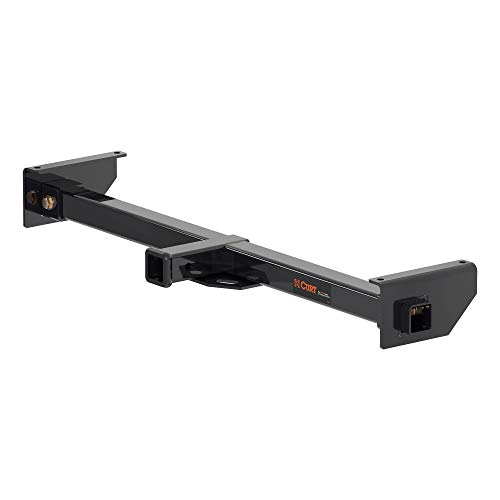 CURT 13702 Camper Adjustable Trailer Hitch RV Towing, 2-Inch Receiver, 5,000 lbs., Fits Frames up to 51 Inches Wide, Black