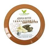 Cosnature Körperbutter Body Butter Tonkabohne & Karitébutter 200 ml