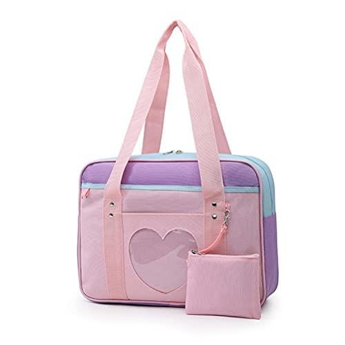 WSTERAO ITA Bag JK Girl - Mochila escolar japonesa con correa grande para colgar personajes de anime y sacos de muñecas