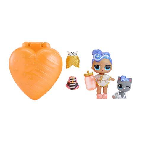 MGA pétillante L.O.L. Surprise (Orange) avec poupée et Animal exclusifs Toy, 556268E7C, Multicolore