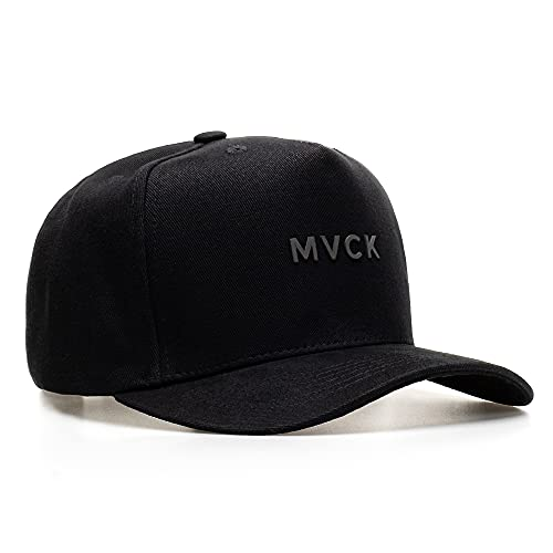 Boné Aba Curva Minimal All Black Original Mvck Snapback