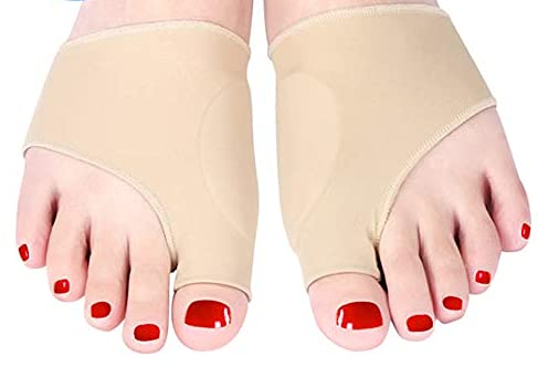 Corrector Haofy Hallux Valgus,Separador de dedos para uso diurno y nocturno, soporte para protector de manga de bursitis ortopédica para hombres y mujeres, ayuda a reducir el dolor de pie