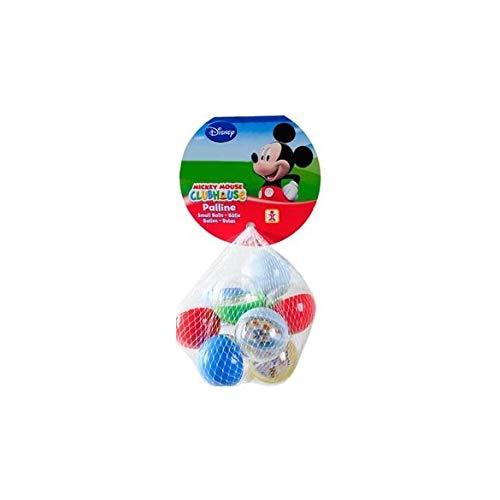 Palline Plastica Dulcop-Biglie Mickey 10palline 322000