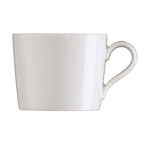 Arzberg Tric Weiss Kaffee-Obertasse, Porzellan, White, 28.1 x 19.3 x 8.9 cm