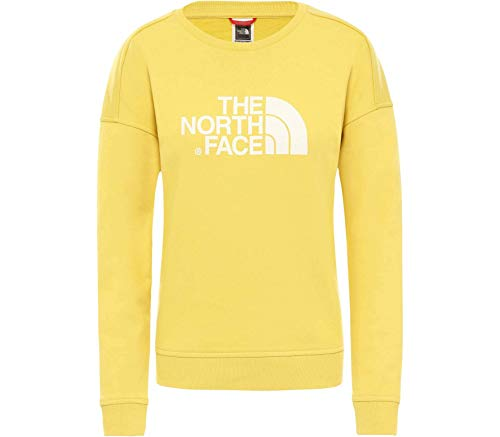 THE NORTH FACE Damen Drew Peak Crew Pullover, Bamboo Yellow