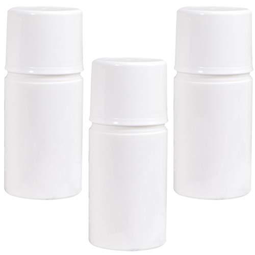 Hemoton 6Pcs 50Ml Bouteille de Pompe sans Air Mini-Distributeurs de Pompes Vides Récipient de Voyage Rechargeable pour Fond de Teint Crème (Blanc)