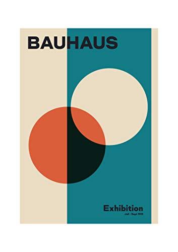 MReinart Bauhaus Plakat Ausstellung 1923 Weimar - DIN A3 Poster Ungerahmt Reproduktion 250 g/m²