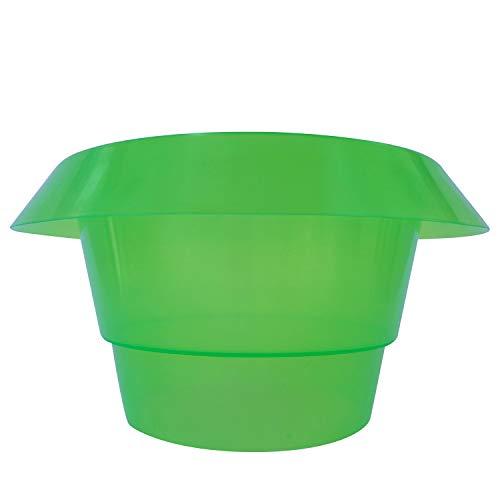 Robuster Schneckenschutzring  Schützen Sie Salat , Tomaten und Jungpflanze in Ihrem Garten - Schutzring in grün für optimalen Pflanzenschutz - Schneckenabwehr aus Kunststoff, 10,  Grün