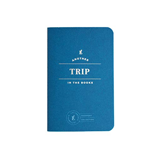 Trip Passport Journal — Pocket-Sized Experience Book by Letterfolk
