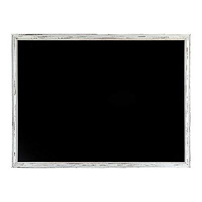 """35/"""" X 29/"""" Extra Large Bois encadrée Blackboard Restaurant Pub Menu Board avec étagère"""
