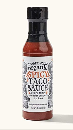 Trader Joe's Organic Spicy Taco Sauce 13 oz. 3 Pack