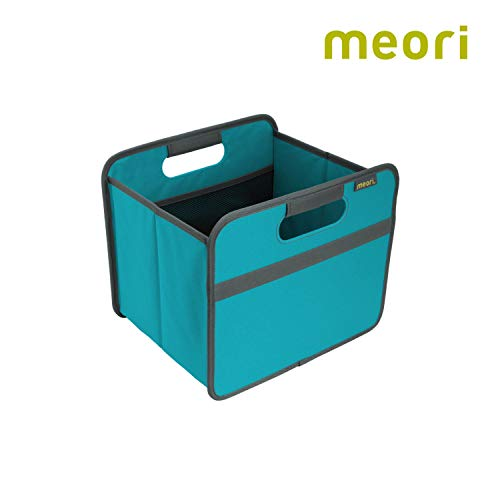 Fantastic Prices! meori Azure Foldable Box Small Blue Collapsible Shelf Storage Organizer Carry Ever...